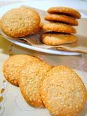 餅乾:橙汁全麥餅乾