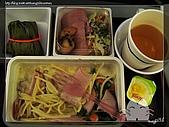 裡日本北陸五日遊:Day1:飛機餐-義大利麵