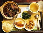 友竹居茶館:塔香三杯雞煲套餐