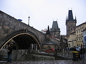 歐遊記:布拉格查理橋下