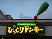 日本沖繩(和平紀念館)戶外活動070705~18:很有彈性的招牌.jpg