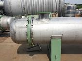 熱交換器,冷卻器,冷凝器,吸附塔,蒸發器,管式殺菌機:不銹鋼熱交換器,傳熱面積40米平方