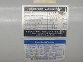 KASHIYAMA水封真空泵浦,抽氣幫浦,外匯泵浦LIQUID RING VACUUM PUMP:水封真空幫浦,抽氣泵,LEM40MA,馬力2HP,日本進KASHIYAMA LIQUID RING VACUUM PUMP