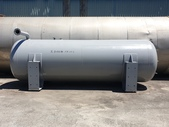 空氣壓力貯桶,儲氣桶,高壓桶,空氣筒,LPG槽,氮氣桶槽,瓦斯桶槽:空氣貯桶,儲氣桶,容量15噸,直徑190公分,焊接點中心527高分,桶長638公分,厚度約27mm