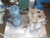 遠心分離機,脫水機,離心機,松本機械製作所株式會社:10吋衛生級遠心分離脫水機,型式KM-10,馬力1HP,材質白鐵316L,日本進松本機械製作所