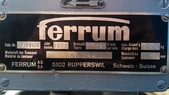 遠心分離脫水機Ferrum Schweiz-Suisse:遠心分離脫水機,型式31吋,馬力15HP,材質316L,Ferrum Schweiz-Suisse