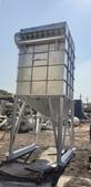 脈衝袋式集塵機,粉塵集塵機,袋濾機,袋式過濾機,除塵器:白鐵脈衝袋式集塵機,6吋管 x 99支,過濾面積 114.24米平方