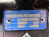 VERDER氣動泵浦,中古隔膜幫浦:VERDER塑膠PP氣動隔膜幫浦,口徑1吋,型式VA25