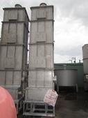 中古機械,洗滌塔,洗氣塔,氣滌塔:白鐵廢氣洗滌塔,長120公分 寬120公分 桶高501公分,底座含頂蓋排放口總高610公分