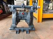 VERDER氣動泵浦,中古隔膜幫浦:VERDER氣動隔膜泵浦,口徑1吋,材質鋁,型號VA25A