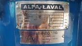 ALFA LAVAL油水分離離心機,澄清機,固液分離機:連續式遠心固液分離機,懸浮澄清機,,型式BRPX309SGV-34-60 / 4182-2,馬力15HP,日本進ALFA LAVAL