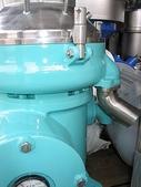 斎藤SAITO遠心機,分離機,離心機,澄清機:日本 SAITO固液遠心分離機 馬力5HP 型號Y-55 (固體排放口)
