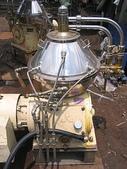 三菱離心機,遠心分離機,澄清機,固液分離機,MITSUBISHI:三菱~高速遠心分離機~澄清機~濃縮回收~固液分離機~可循環冷卻液~11550RPM~馬力7.5HP~型號SJC-10P,MITSUBISHI~日本進