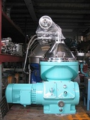 ALFA LAVAL油水分離離心機,澄清機,固液分離機:中古機械,ALFA LAVAL  VNPX407 固液分離機,澄清機,馬力15HP,日本進