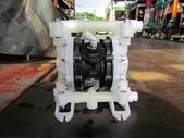 VERDER氣動泵浦,中古隔膜幫浦:VERDER氣動隔膜泵浦,口徑4分,材質塑膠
