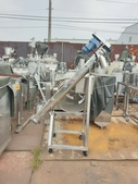 粉粒送料機,螺旋輸送機,皮帶輸送機,送料機:食品輸送機,白鐵螺旋送料機,口徑5吋,馬力1HP