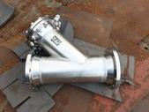 過濾機,過濾器,過濾桶,濾水機:白鐵y型過濾器,口徑10吋,日本進