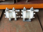 YAMADA隔膜泵浦,氣動幫浦,iwaki pump:鐵氟龍氣動幫浦,隔膜泵,口徑3分,日本進iwaki