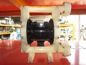 VERDER氣動泵浦,中古隔膜幫浦:VERDER塑膠氣動隔膜泵浦,口徑1'',日本進