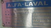 ALFA LAVAL油水分離離心機,澄清機,固液分離機:油水分離機,型式MOPX207SGT-74-60,日本進ALFA LAVAL