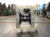 VERDER氣動泵浦,中古隔膜幫浦:VERDER氣動隔膜泵浦,口徑1.5吋,型式 VA40 PP,PP,TF,TF