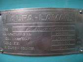 ALFA LAVAL油水分離離心機,澄清機,固液分離機:ALFA-LAVAL  連續式固液分離機 型號DX-309 馬力40HP 可做澄清 (本體名牌)