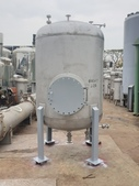白鐵桶,不鏽鋼貯槽,接收槽,凝集槽,真空桶,耐酸鹼桶,壓力桶:白鐵桶,不銹鋼暫存桶,容量2.8噸