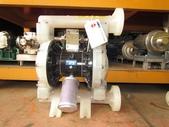 VERDER氣動泵浦,中古隔膜幫浦:VERDER塑膠PP氣動隔膜幫浦,口徑1.5吋,型式VA40