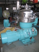 ALFA LAVAL油水分離離心機,澄清機,固液分離機:ALFA-LAVAL  三相油水分離離心機 MAPX 207-24S-60  馬力15HP  油水最大處理量1小時約7噸(清油)   一般有黏度的1小時約2到3噸
