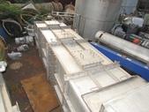 中古機械,洗滌塔,洗氣塔,氣滌塔:白鐵廢氣洗滌塔,長120公分 寬120公分 桶高505公分,底座含頂蓋排放口總高610公分