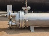 熱交換器,冷卻器,冷凝器,吸附塔,蒸發器,管式殺菌機:白鐵熱交換器,傳熱面積8.8米平方