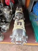 白鐵食品泵浦,NAKAKIN PUMP,中村轉子幫浦,nakakin rotary pump:食品轉子泵,口徑2吋,壓力10公斤,材質白鐵316,型式JO40VT-Z,日本進中村NAKAKIN SANITARY ROTARY PUMP