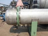 熱交換器,冷卻器,冷凝器,吸附塔,蒸發器,管式殺菌機:白鐵熱交換器,傳熱面積40米平方