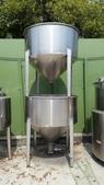 白鐵桶,粉粒桶,儲料桶,尖底槽:白鐵尖底粉粒桶
