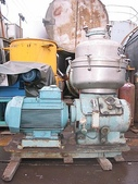 ALFA LAVAL油水分離離心機,澄清機,固液分離機:ALFA LAVAL~離心機~固液分離機,TYPE;F EUX 412U-35C-60,馬力50HP,日本進
