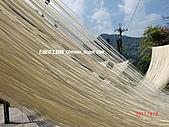 石碇傳統手工麵線相片集,讓您認識手工麵線,認識傳統手工:2010-4-2-曬手工麵線.JPG