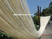 石碇傳統手工麵線相片集,讓您認識手工麵線,認識傳統手工:2010-4-2-曬手工麵線 (9).JPG