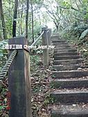 石碇傳統手工麵線相片集,讓您認識手工麵線,認識傳統手工:石碇皇帝殿-往東峰進入木梯.JPG