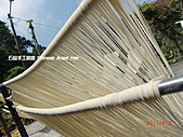 石碇傳統手工麵線相片集,讓您認識手工麵線,認識傳統手工:2010-4-2-曬手工麵線 (12).JPG