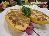 宜蘭旅遊-觀光工廠 餐廳:宜蘭-武暖餐廳-木瓜海鮮焗烤.JPG