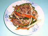 美食:20.牛肉炒三蔬.JPG
