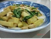 2013 料理:2013.11.05 XO醬炒薑黃蘿蔔糕.JPG
