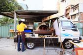 走在台南舊街巷:柴燒窯烤披薩