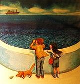 幾米星空特展:專注地看著一艘艘遠方的輪船