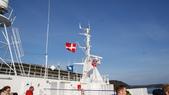 挪威:往奧斯路的船上