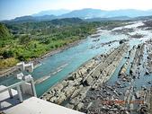 石門水庫--大溪--櫻花道-我的故鄉事:河床有如被殘害後的枯嚕頭