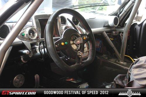 Goodwood 2012 Pagani Zonda R Evolution 760 Bhp Valentino Rossi