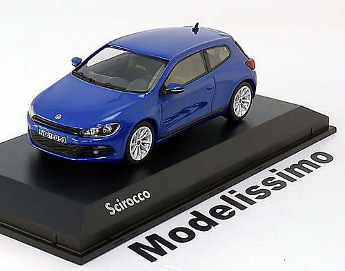 1:43 Norev VW Scirocco 3 2008 bluemetallic