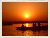 印度全覽:恆河日出..