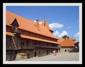 波羅的海三小國 Baltic Countries:特拉凱古堡內庭